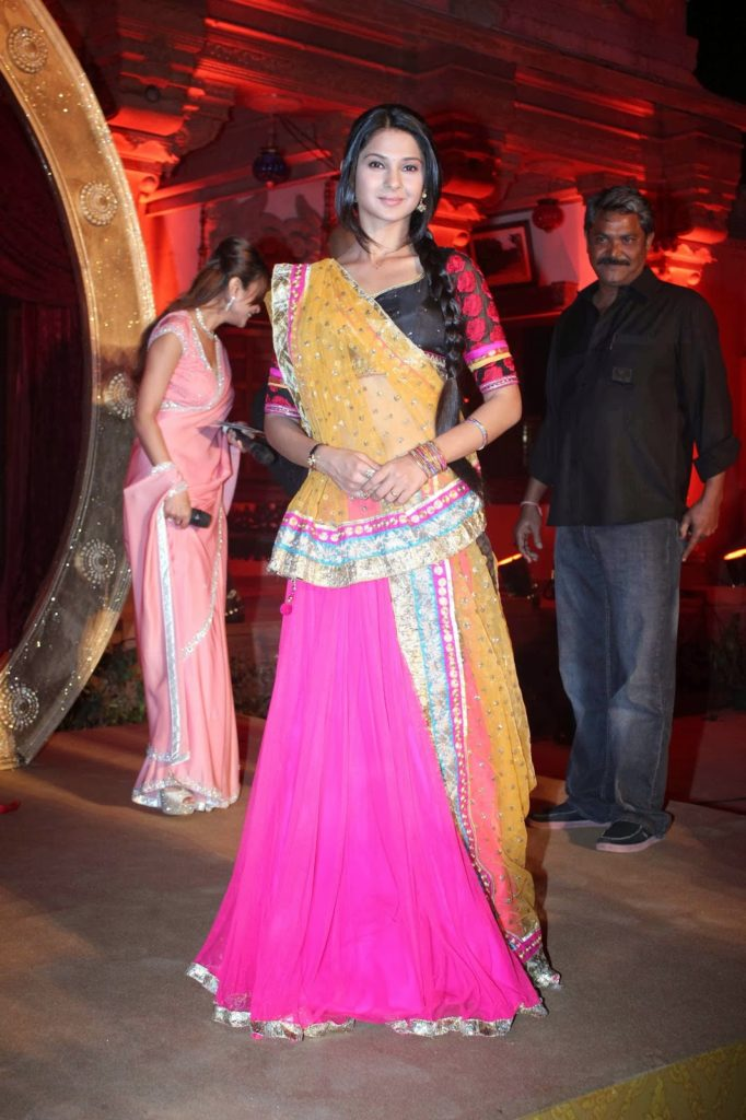 Jennifer Winget Beautiful Look In Gagra Choli