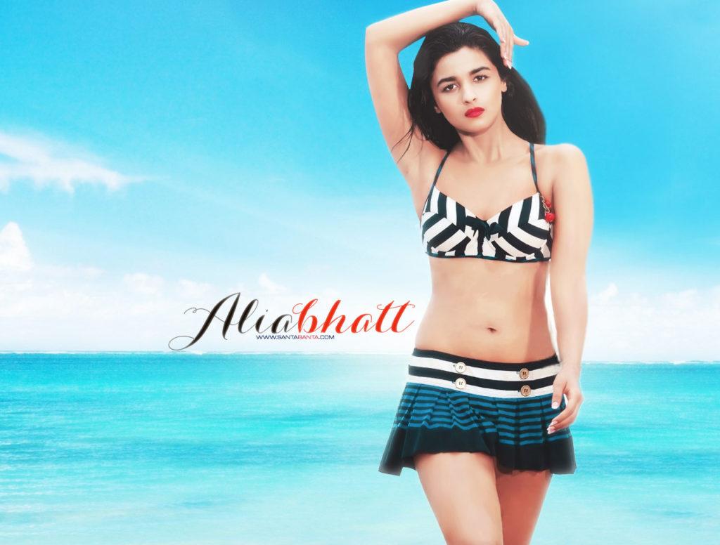 Alia Bhatt In Bra Panty Images
