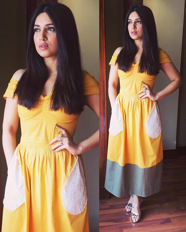 Bhumi Pednekar Beautiful Images In Short Cloths