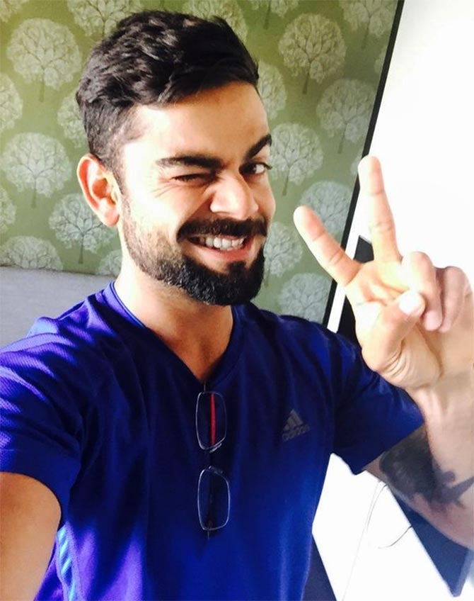 Cricketer Virat Kohli Hot Images
