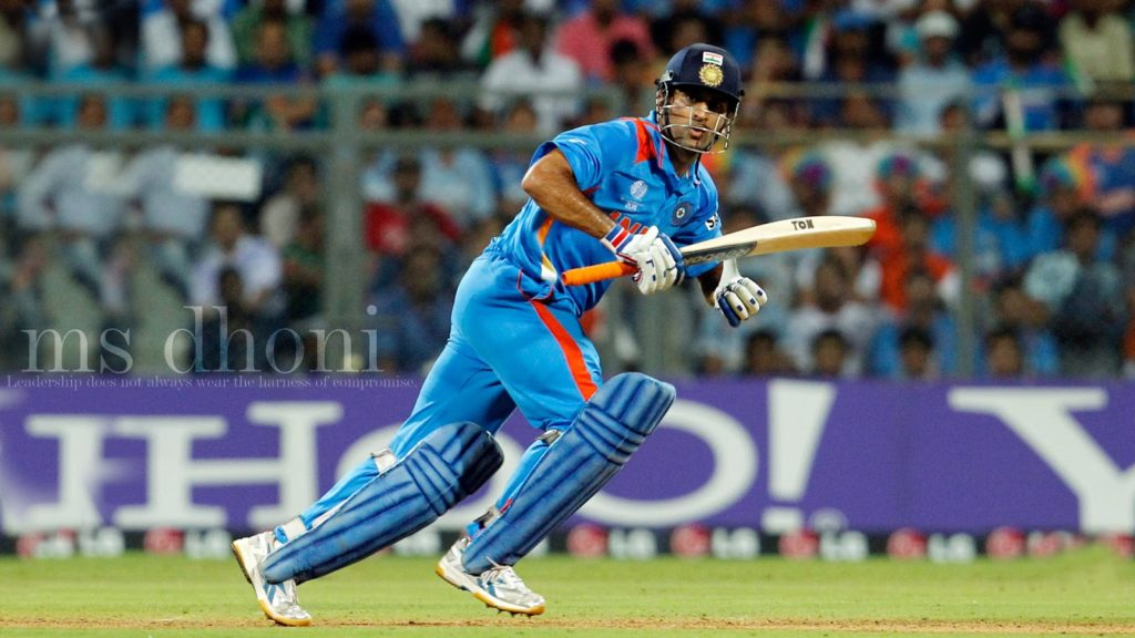 Indian Cricketer Mahendra Singh Dhoni Latest Wallpapers