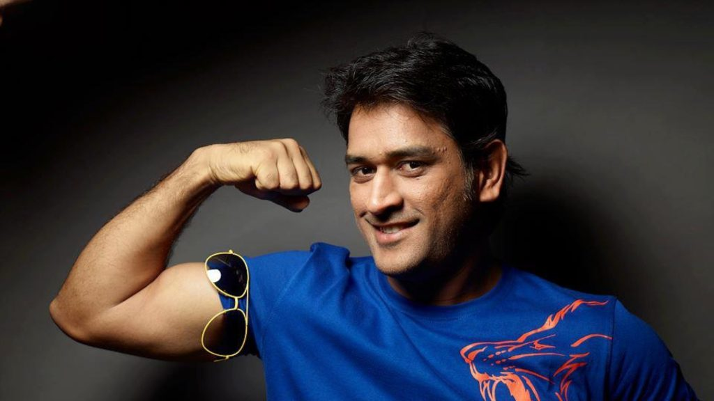 Mahendra Singh Dhoni Beautiful Images With Sunglass