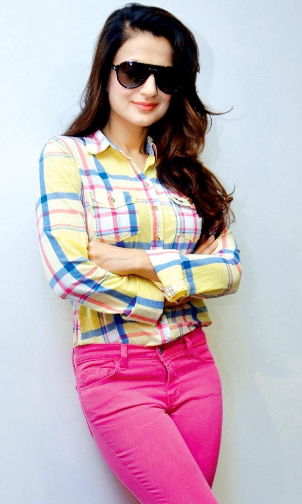 Ameesha Patel Charming Images In Jeans Top