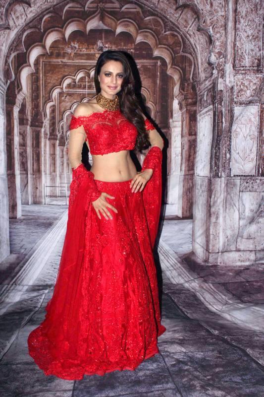 Ameesha Patel Hot Navel Photos