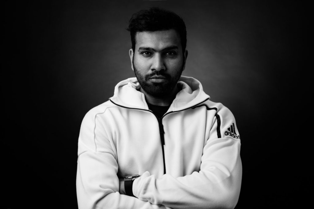 Rohit Sharma Black & White Images