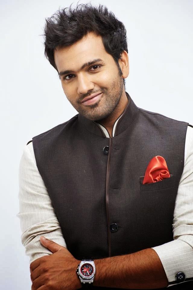 Rohit Sharma New Hair Style Photos