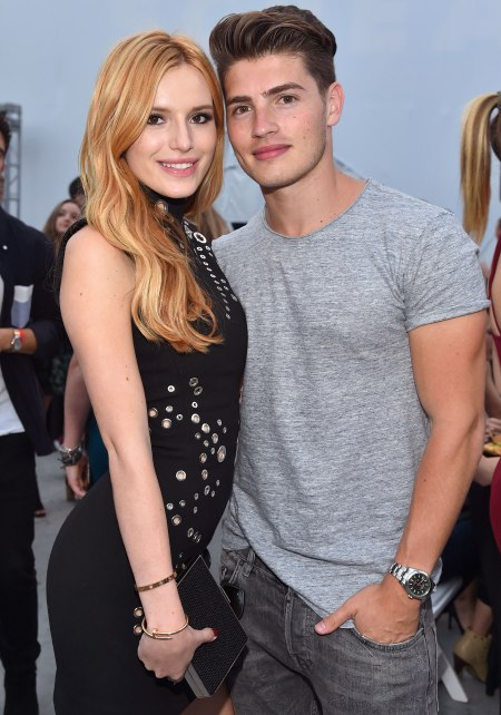 Bella Thorne With His Friend Images