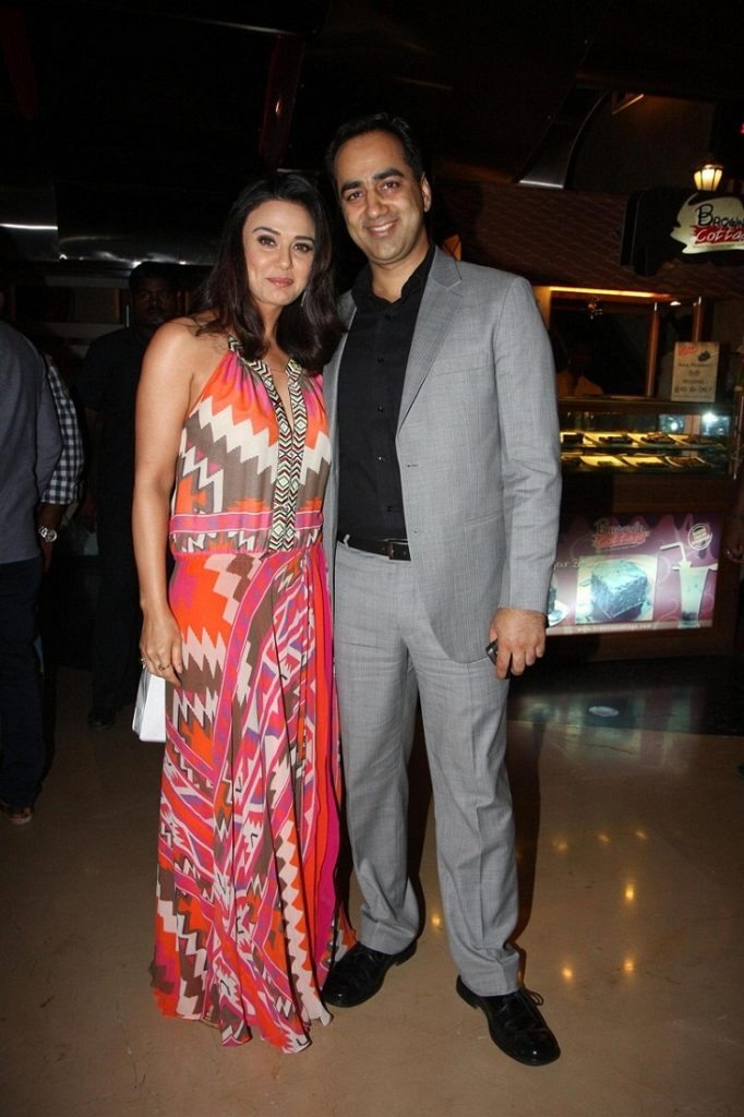 Preity Zinta HD Sexy Images With His Friend