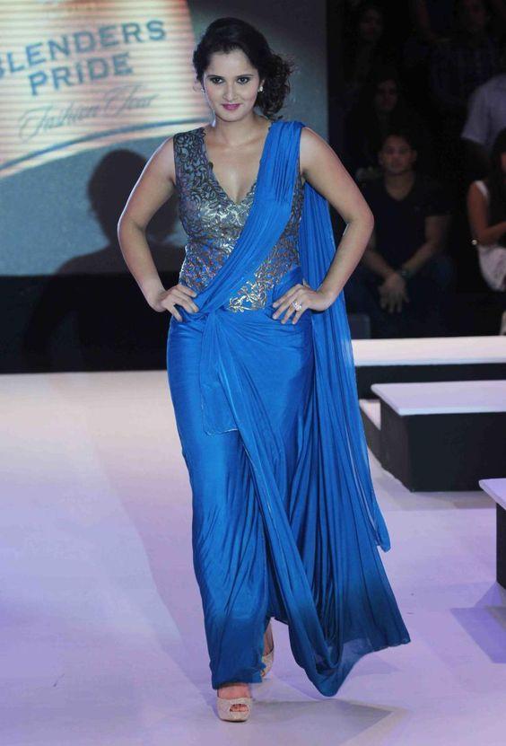 Sania Mirza Hot Images At Rampwalk
