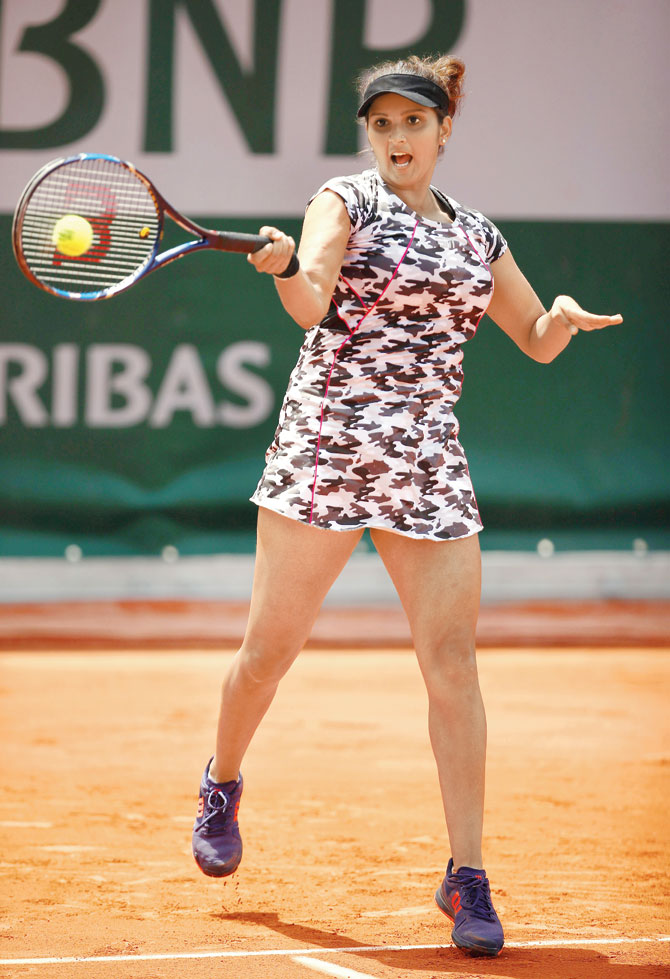 Sania Mirza In Bra Panty Images