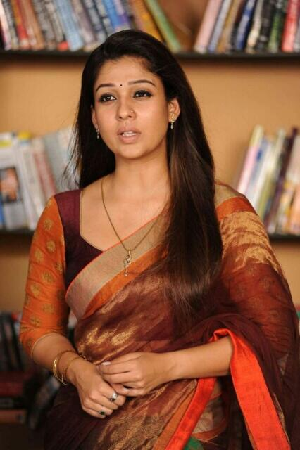 Actress Nayanthara In Saree Images