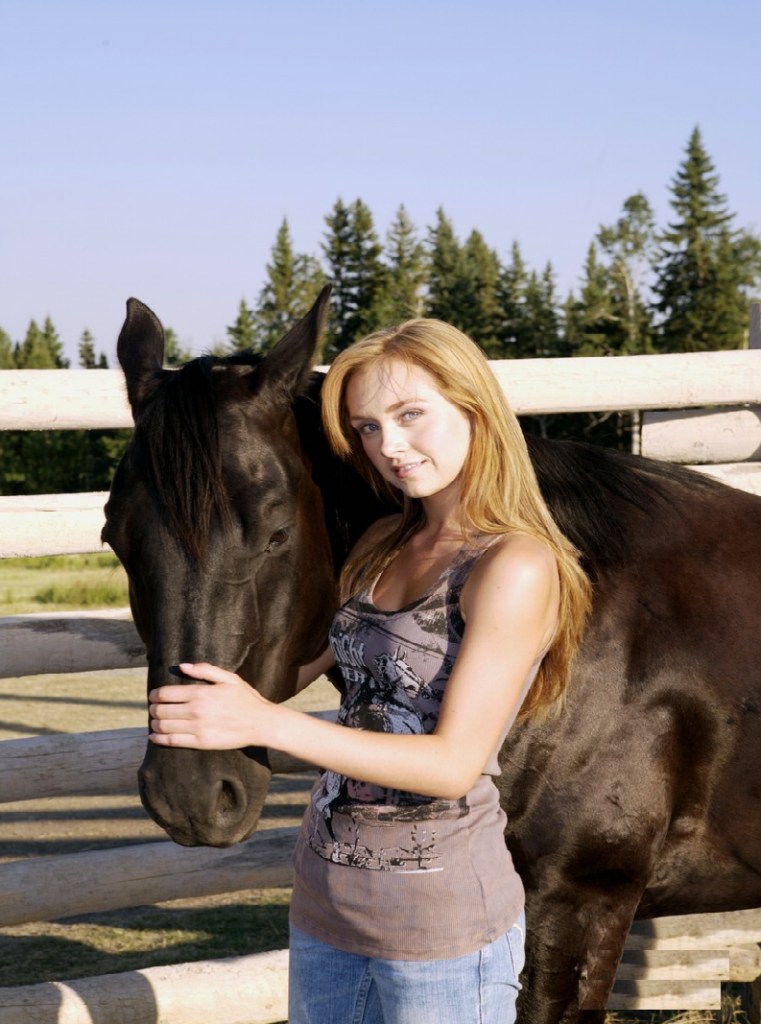 Amber Marshall Pictures With Horse