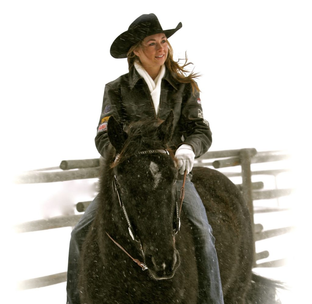 Amber Marshall Sizzling Images With Horse