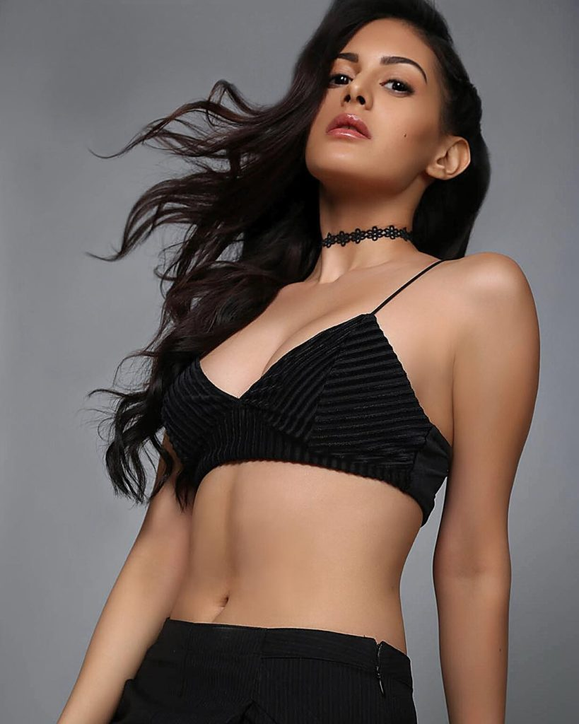 Amyra Dastur Hot Photos In Bra Panty