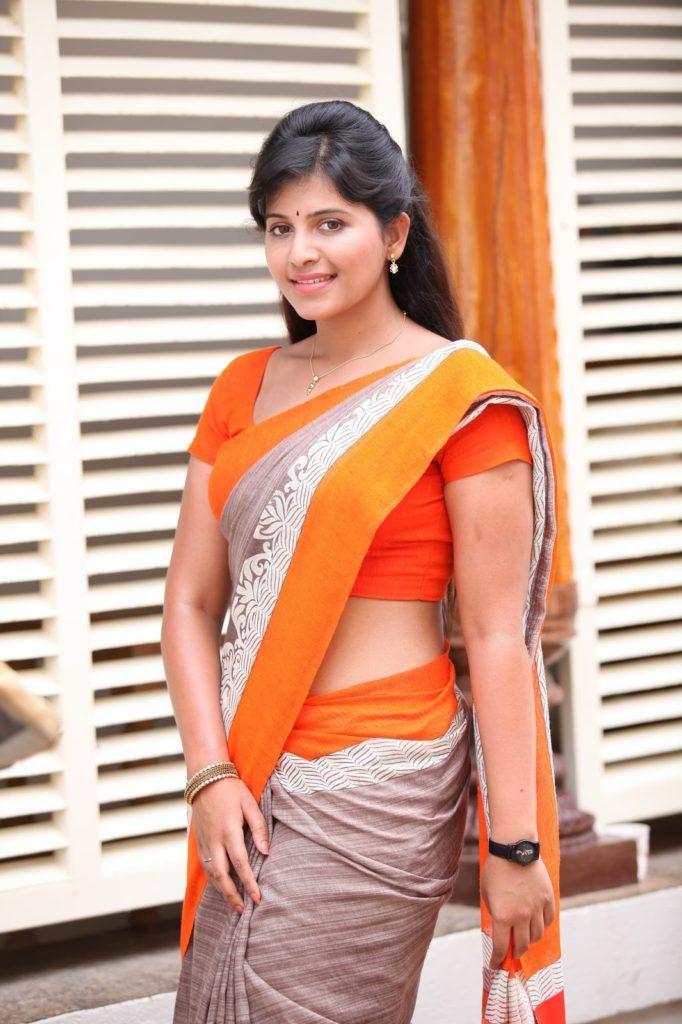 Anjali Beautiful Photos In Saree