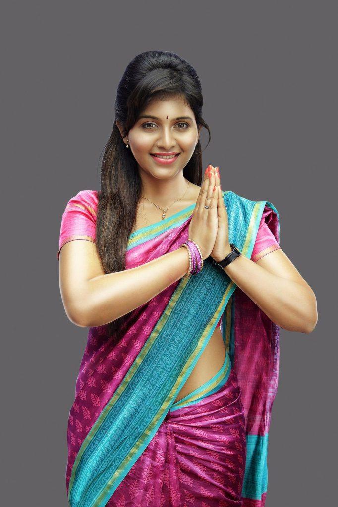 Anjali Sweet Smile Images