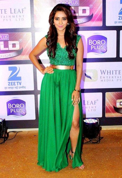 Asha Negi Hot Unseen Images At Award Show