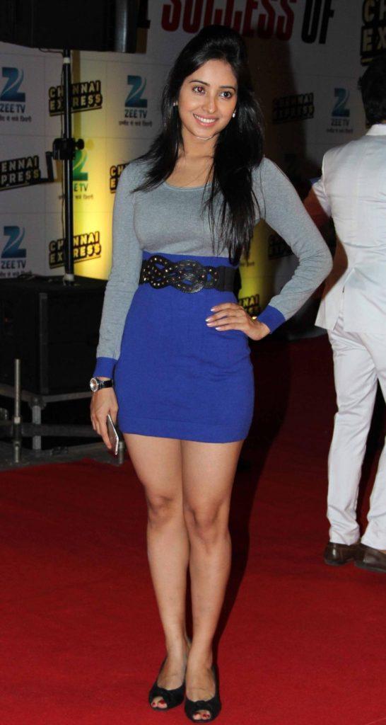 Asha Negi Sexy Images In Short Dress