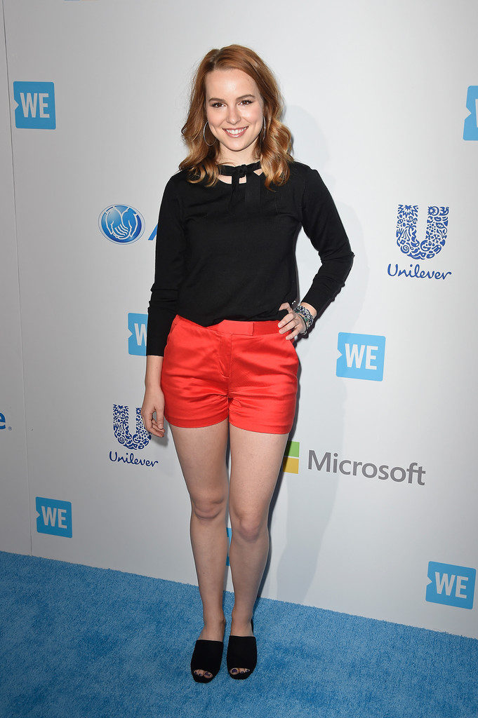 Bridgit Mendler Hot Look In Very Short Cloths Images