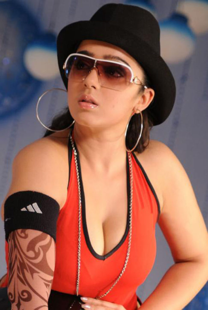 Charmy Kaur Hot Boobs Showing Wallpapers