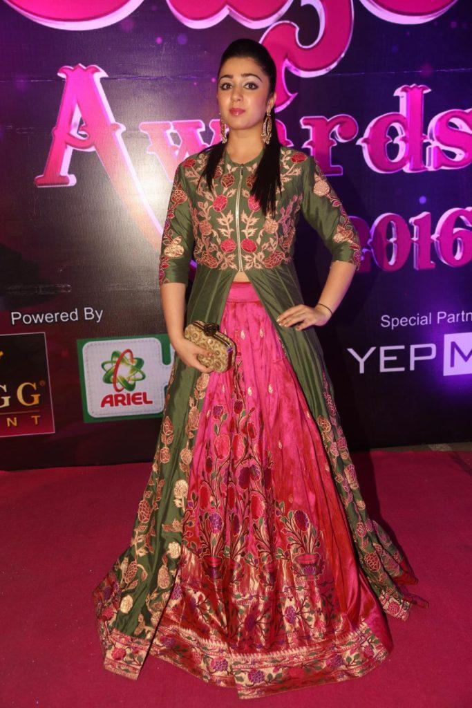 Charmy Kaur Images At Award Show