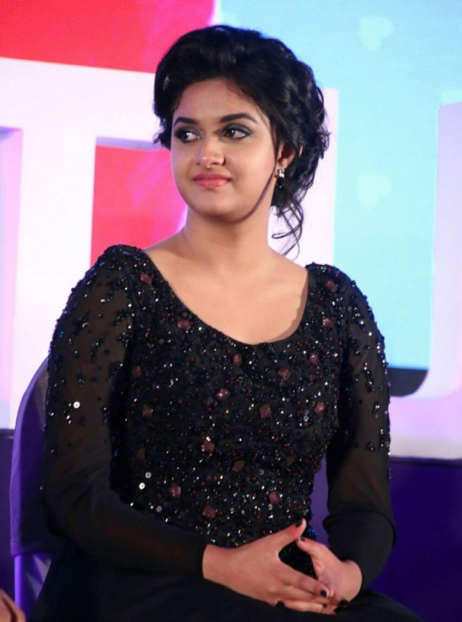 Keerthy Suresh Lovely Images At Award Show