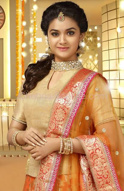 Keerthy Suresh Royal Look Images