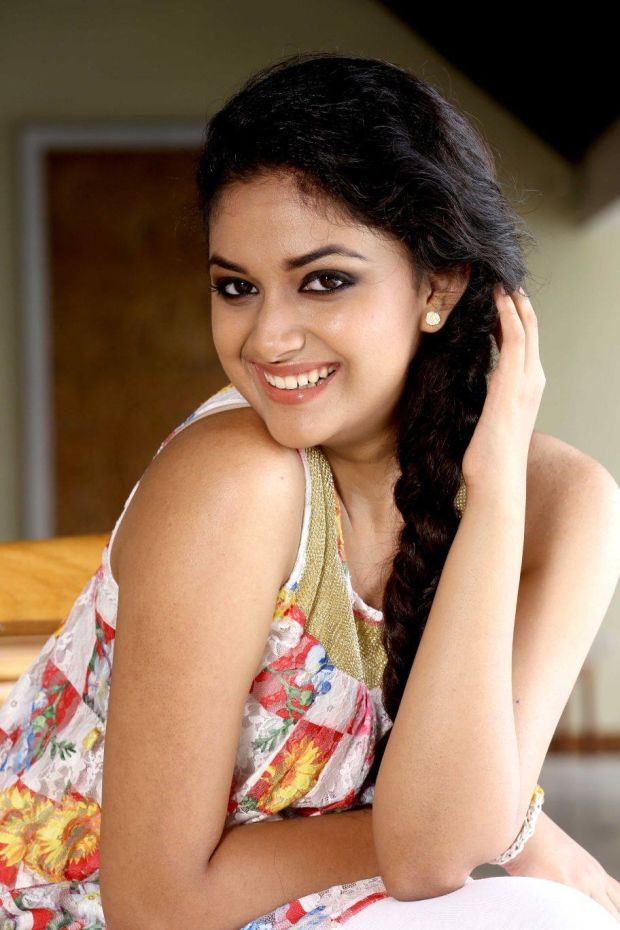 Keerthy Suresh Sweet Smile Images