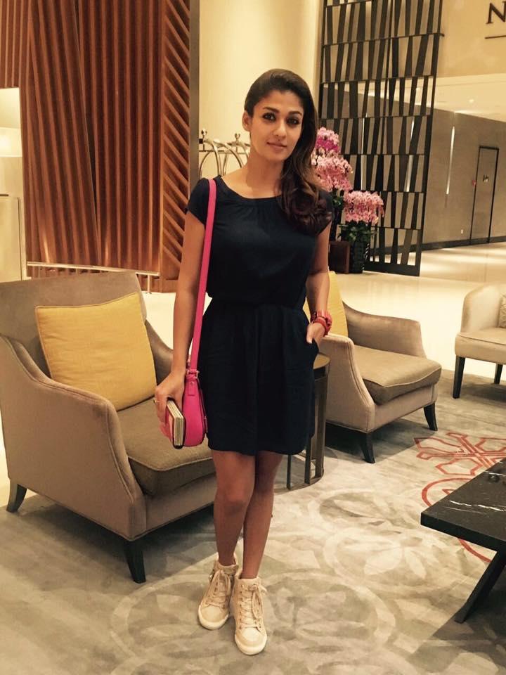 Nayanthara At Her Home Pics
