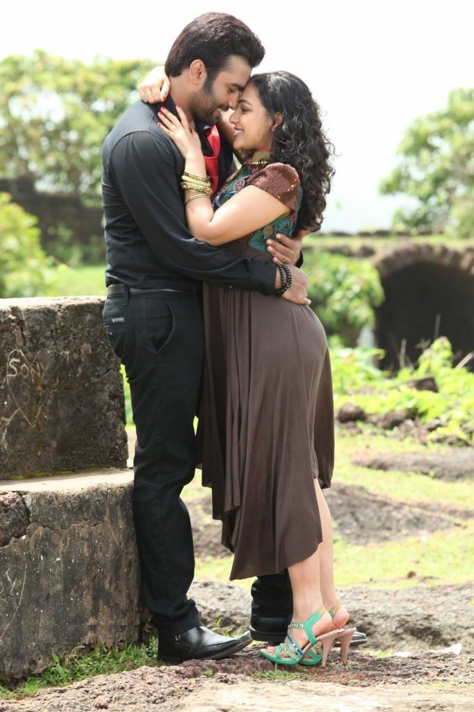 Nithya Menon Cute Images With His Boyfriend
