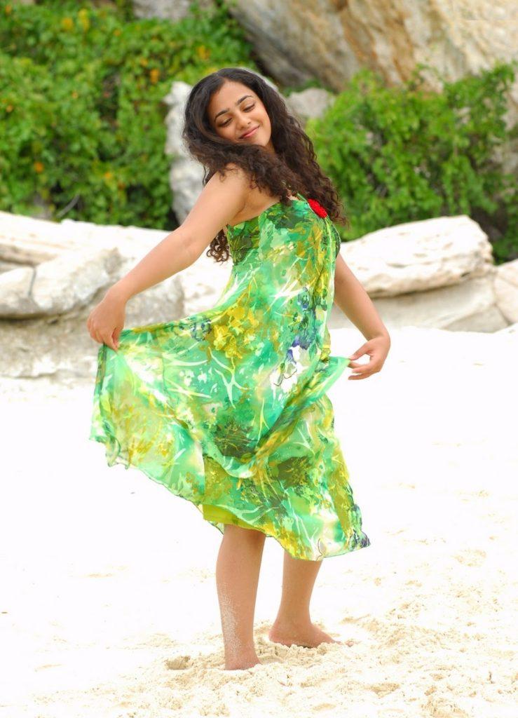Nithya Menon Images In Bikini
