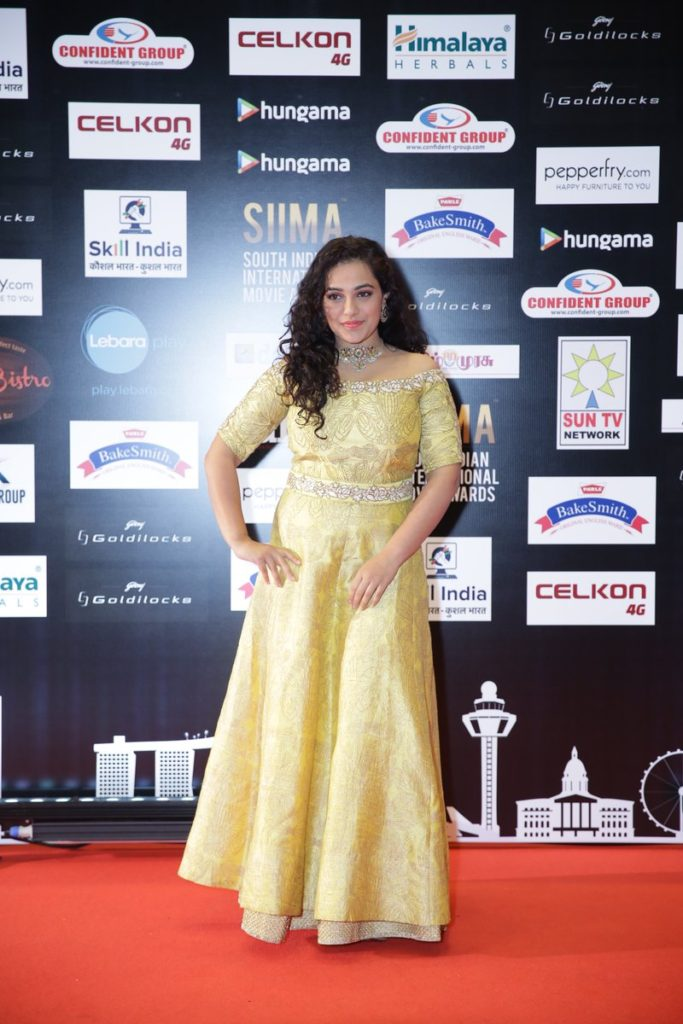 Nithya Menon Images In Gown