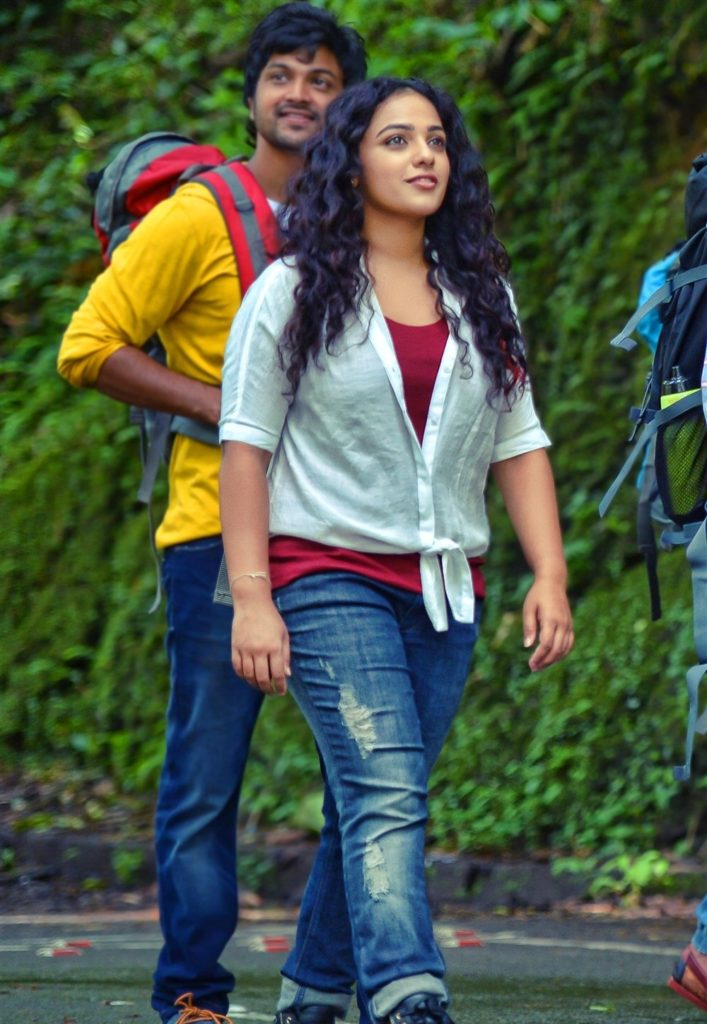 Nithya Menon Pictures In Jeans Top