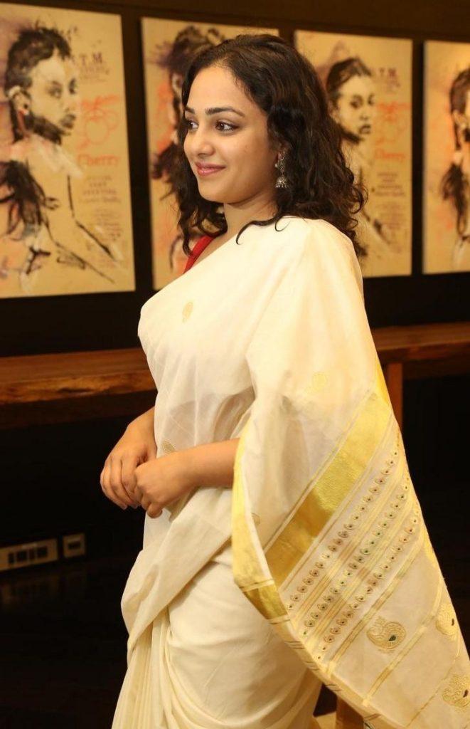 Nithya Menon Royal Look Images