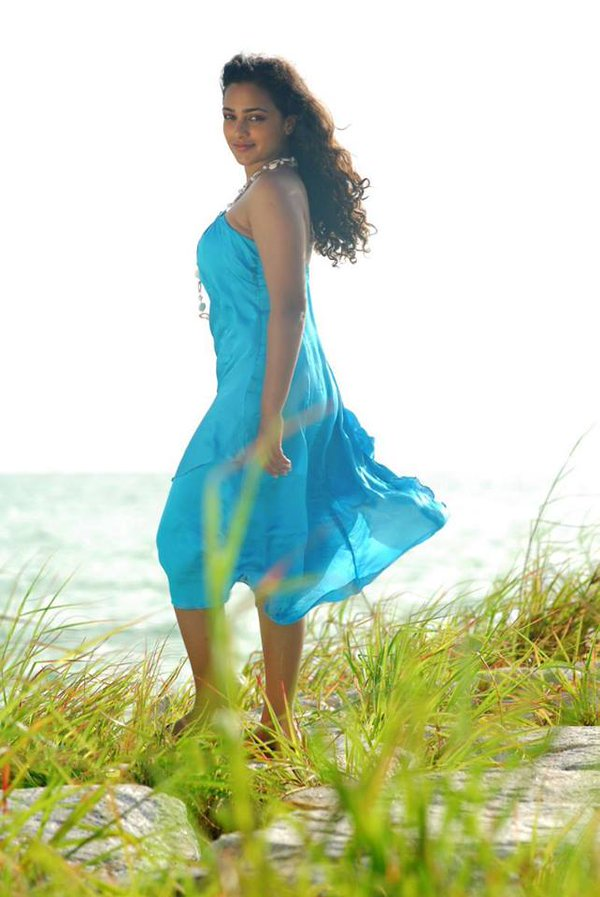 Nithya Menon Spicy Images In Short Cloths