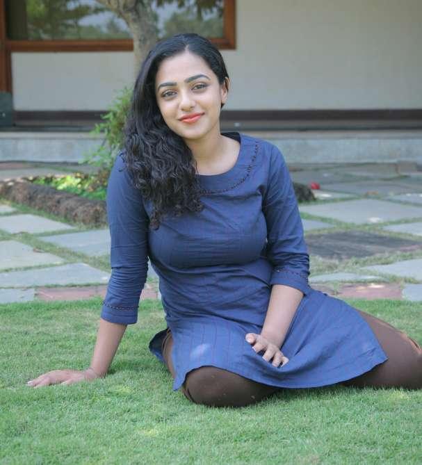Nithya Menon Upcoming Movie Look Photos