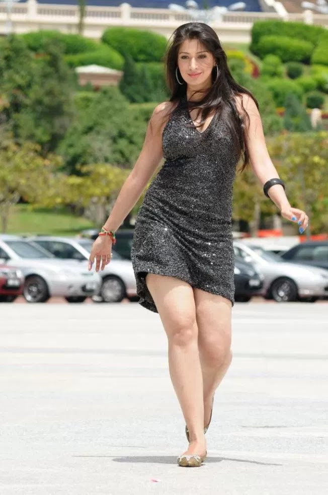 Raai Laxmi Hot Images In Short Cloths