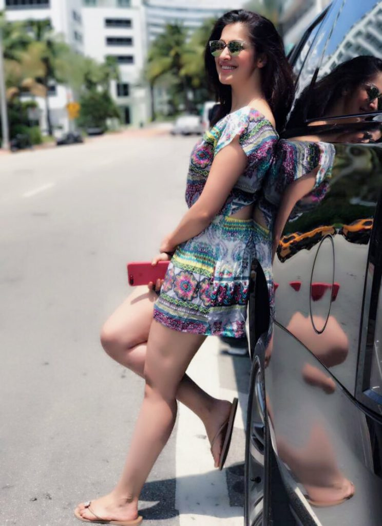 Raai Laxmi Latest Hair Style Images