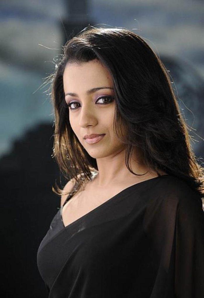 Trisha Krishnan Latest HD Hair Style Pics