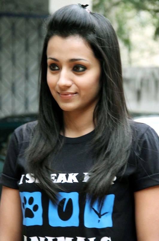 Trisha Krishnan Latest New Hair Style Images