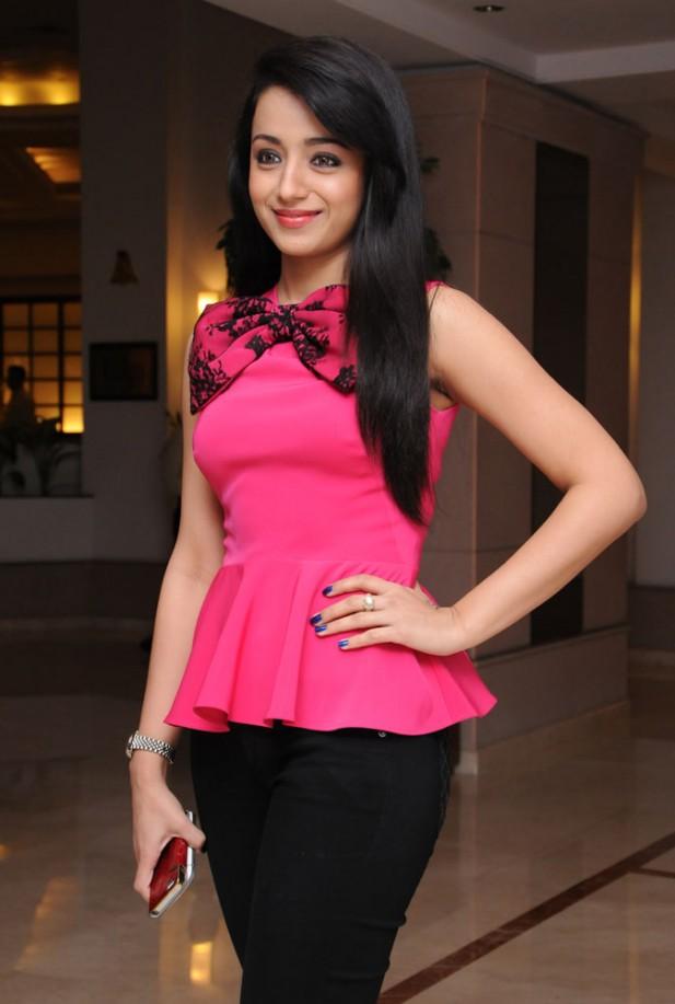 Trisha Krishnan New Pics Jeans Top