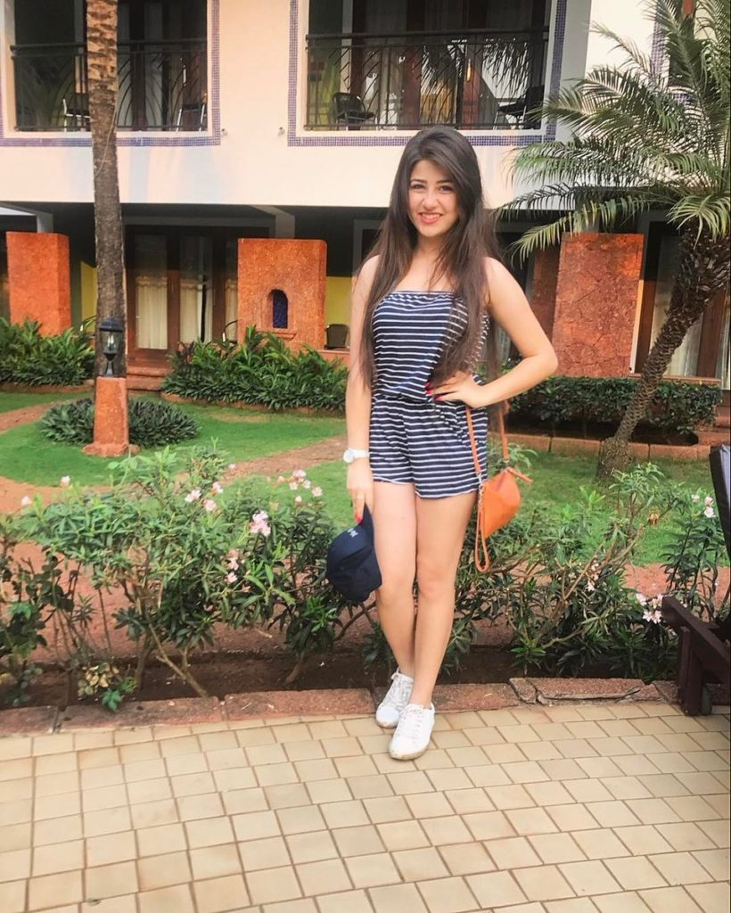 Aditi Bhatia Images In Short Cloths