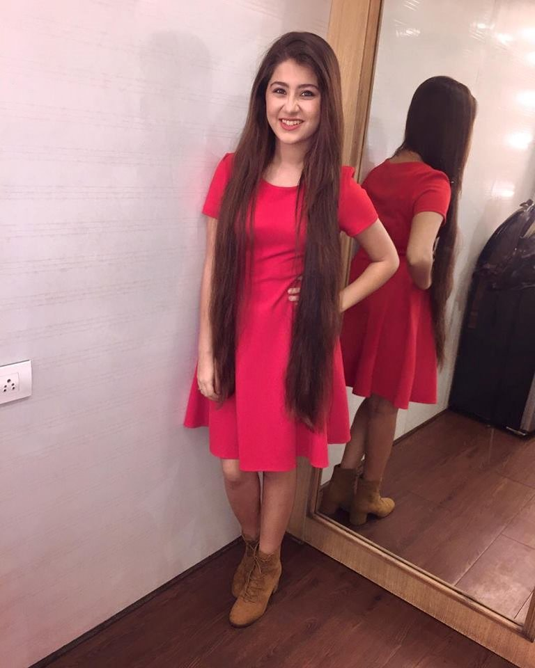 Aditi Bhatia Long Hair Images