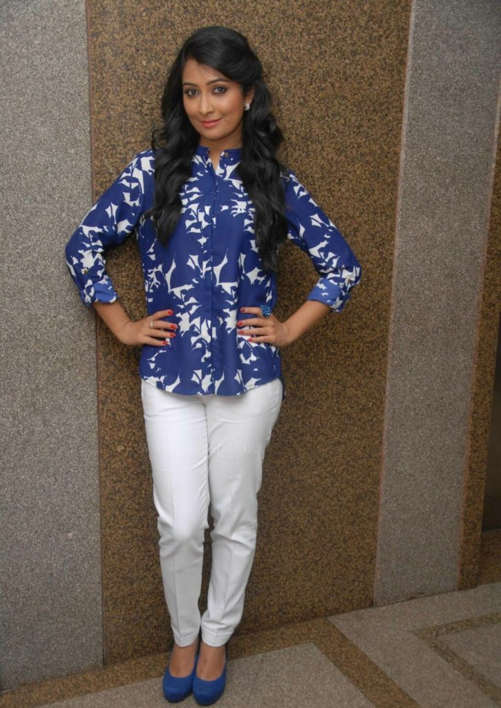 Radhika Pandit Beautiful Images In Jeans Top