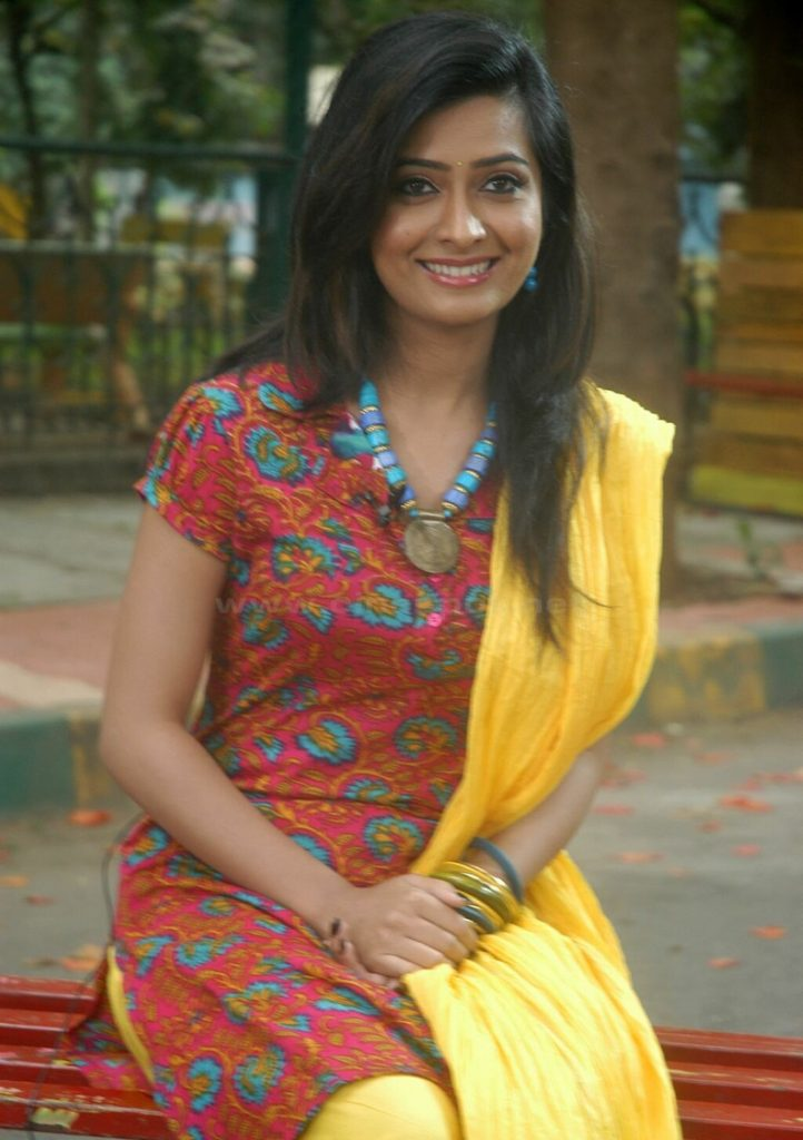 Radhika Pandit Lovely Photos In Salwar Kameez