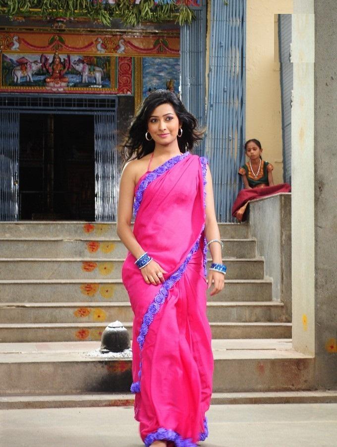 Radhika Pandit Pictures In Saree