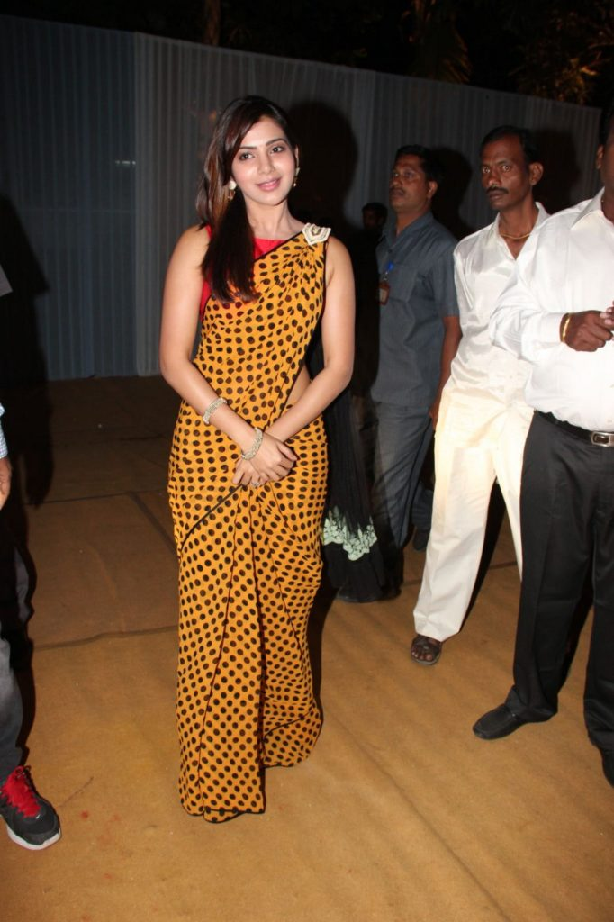 Samantha Beautiful Pictures For Desktop In Saree