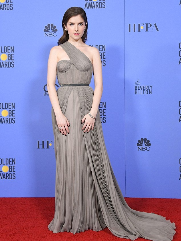 Anna Kendrick Lovely Images In Gown
