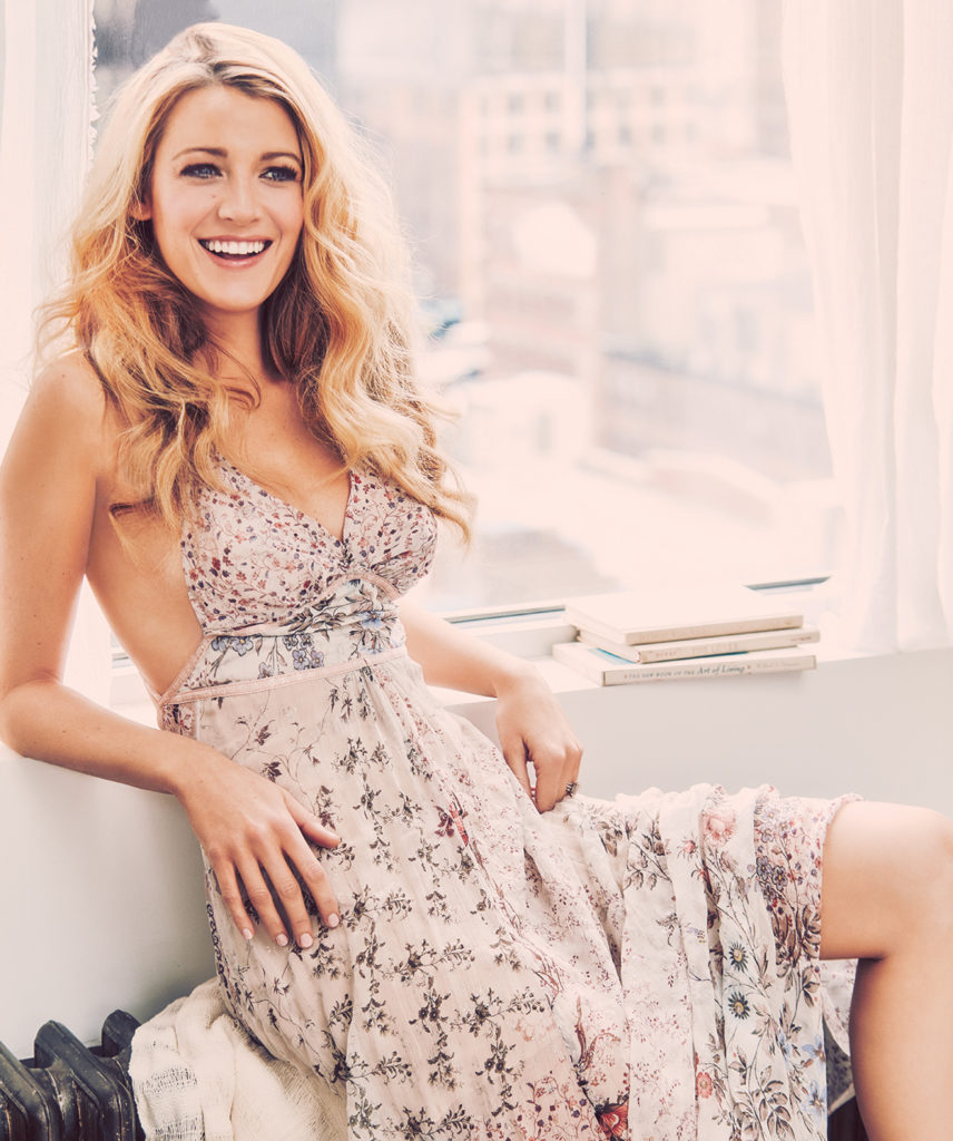 Blake Lively Hot Boobs Showing Wallpapers