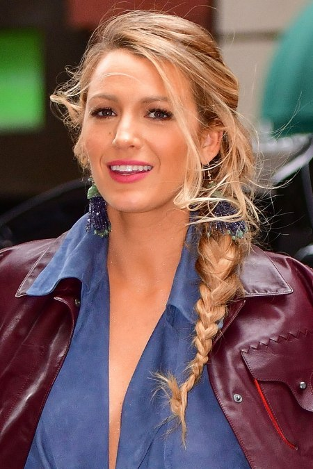 Blake Lively Latest Hair Style Images